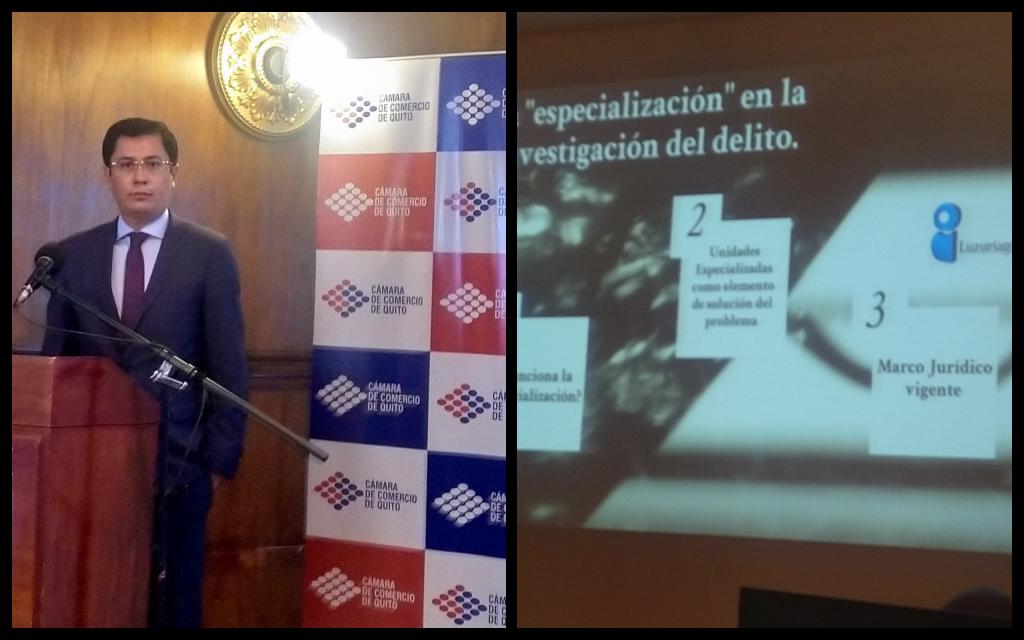 """""""Primer programa de capacitación: medidas para combatir el comercio ilegal"""" Foto / Luzuriaga & Castro Abogados"""